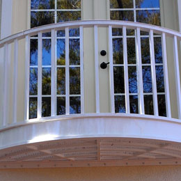 Ornamental Exterior Railings in Sarasota Florida