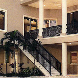 Metal Balcony Railings in Lakewood Ranch Florida
