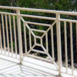 Metal Balcony Railings in Venice Florida
