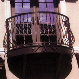 Metal Balcony Railings in Sarasota Florida