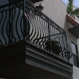 Exterior Metal Railings in Sarasota Florida