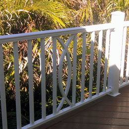 Iron Exterior Railings in Anna Maria Island Florida
