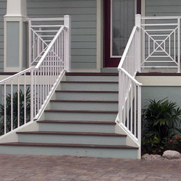 Exterior Railings in Longboat Key Florida