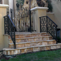 Exterior Iron Railings in Sarasota Florida