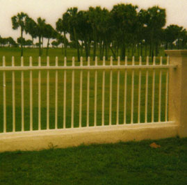 Custom fence in Lakewood Ranch Florida