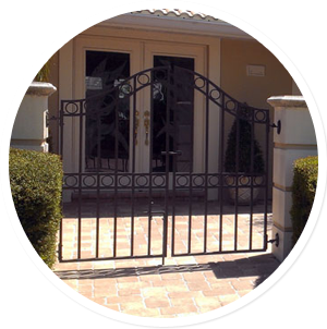 Custom gates in Sarasota Florida
