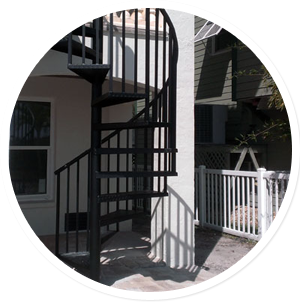 Spiral Stairs fabricator in Sarasota Florida